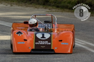 The winner of Classic Car Friday, Franco Scribante.