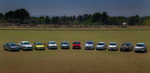 The selection of finalists in the 2014 SA Car of the Year competition.
