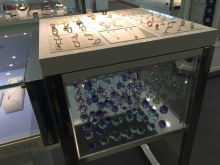 A very small part of the Swarovski display - again at the Singapore airport.