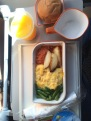Breakfast on Singapore Airlines, from Singapore to Phuket.